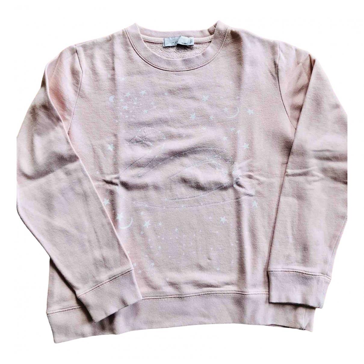 Stella Mccartney Kids - Pull   pour enfant en coton - rose