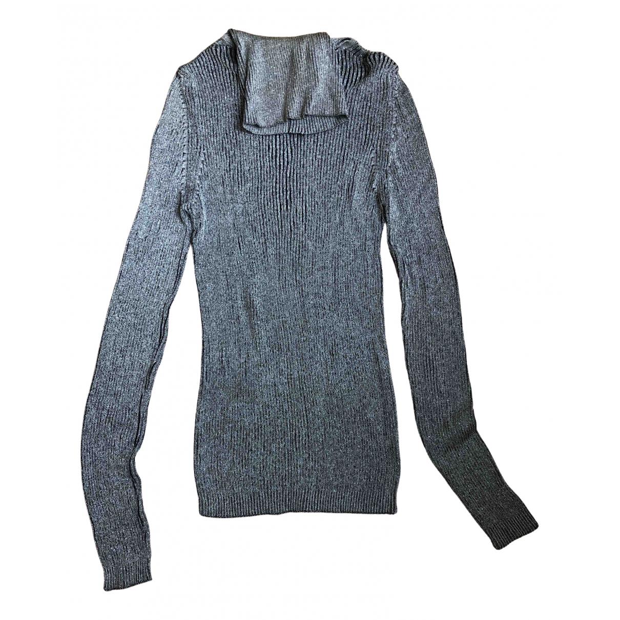 Dior - Pull   pour femme en coton - gris