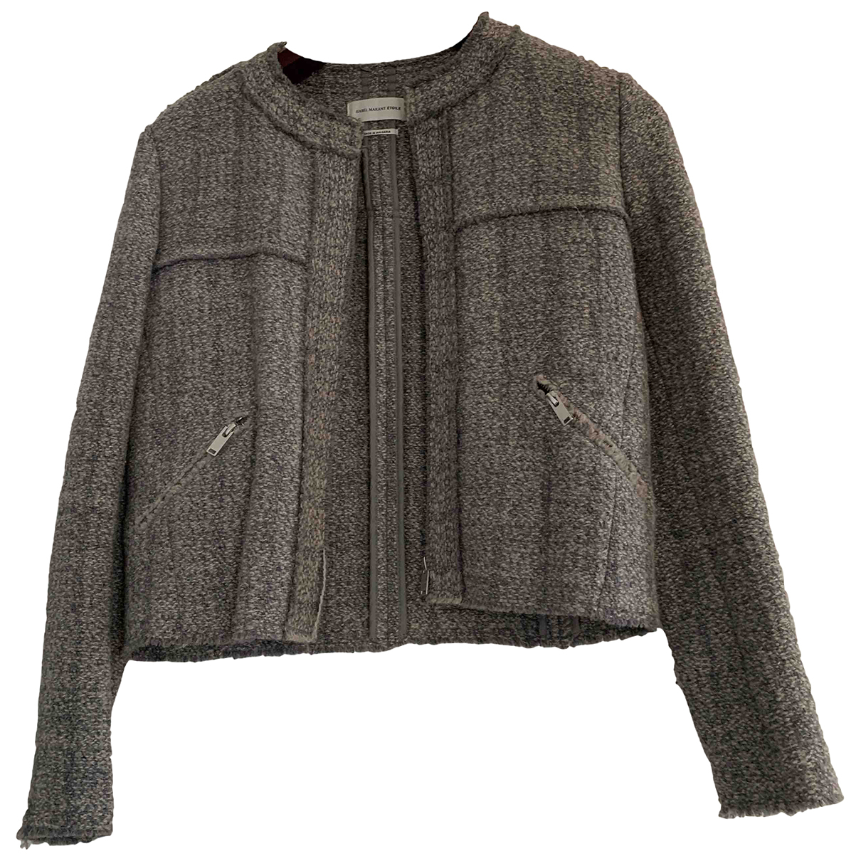 Isabel Marant Etoile \N Grey Wool jacket for Women 36 FR
