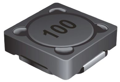 Bourns , SRR1240, 1240 Shielded Wire-wound SMD Inductor with a Ferrite Core, 27 μH ±20% Wire-Wound 2.55A Idc Q:16 (5)