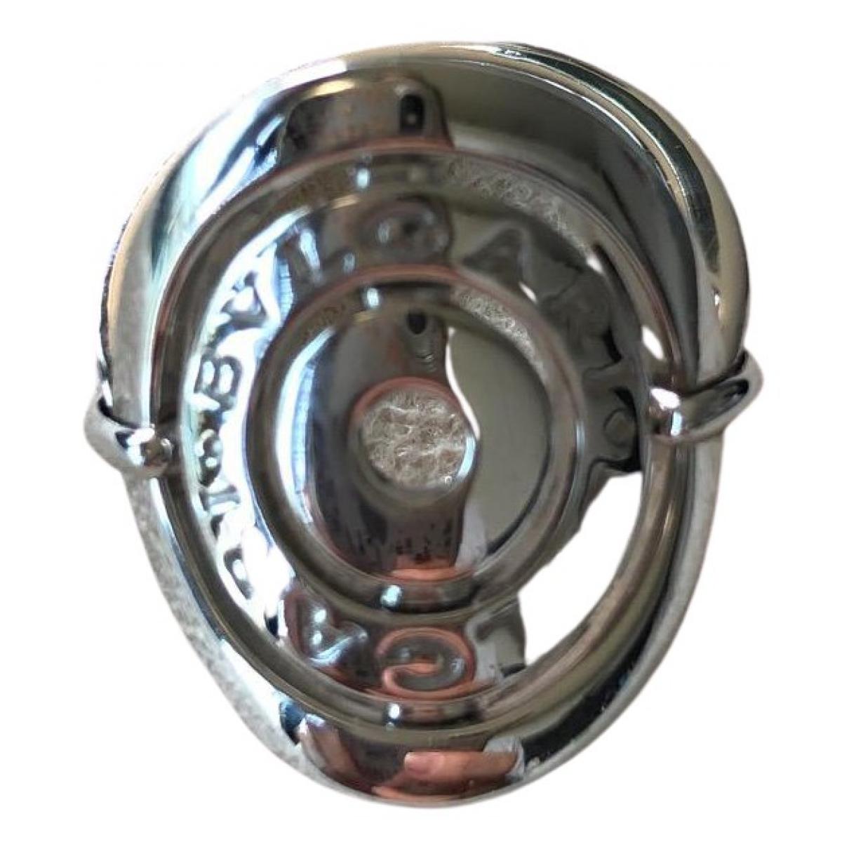Bvlgari Astrale Ring in  Grau Weissgold