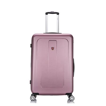 DUKAP Crypto Lightweight Hardside Spinner 28, One Size , Pink