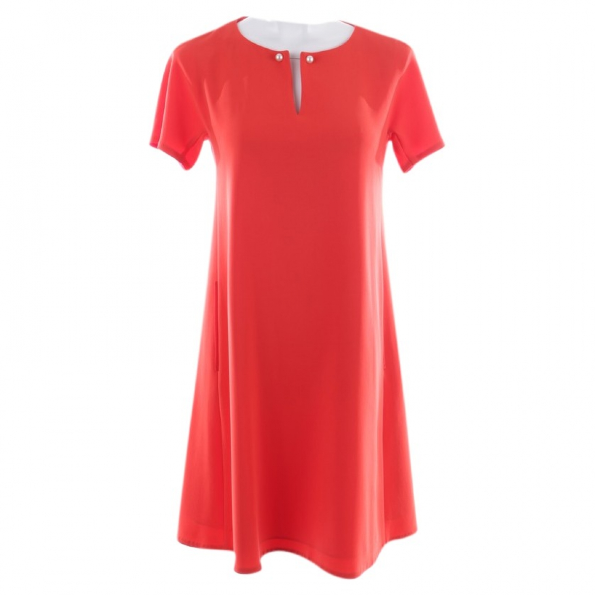 Marc Cain \N Kleid in  Rot Polyester