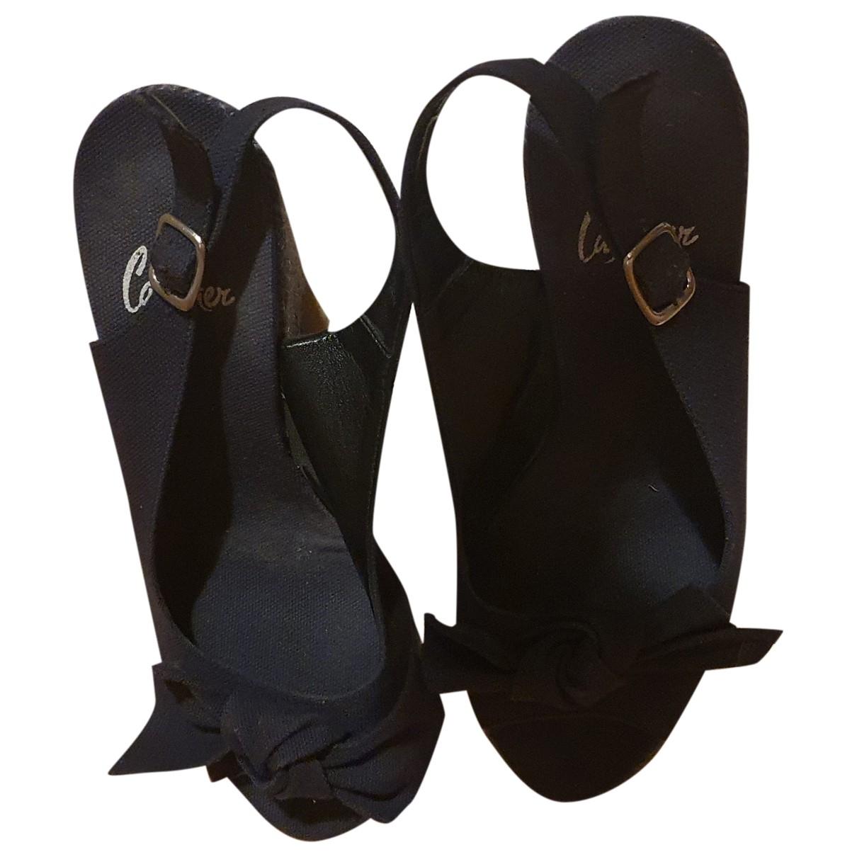 Castaner \N Blue Cloth Sandals for Women 35 EU