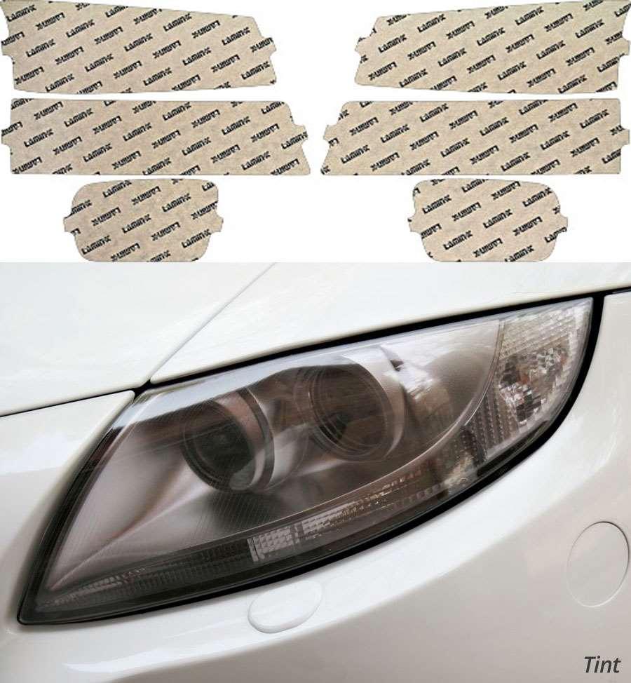 Chevrolet Avalanche w/o Clad 03-06 Tint Headlight Covers Lamin-X CH012T