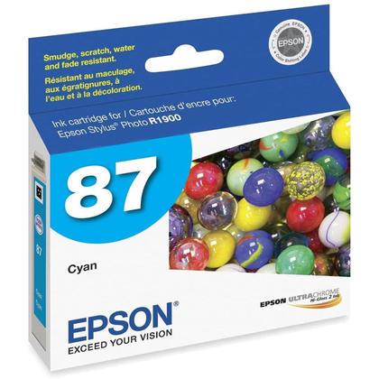 Epson T087220 Original Cyan Ink Cartridge