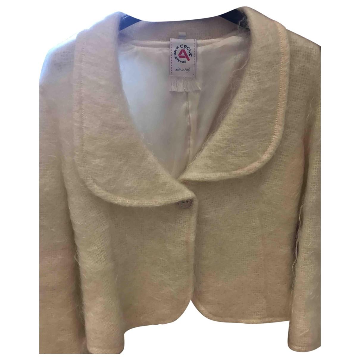 Cycle - Veste   pour femme en laine - ecru
