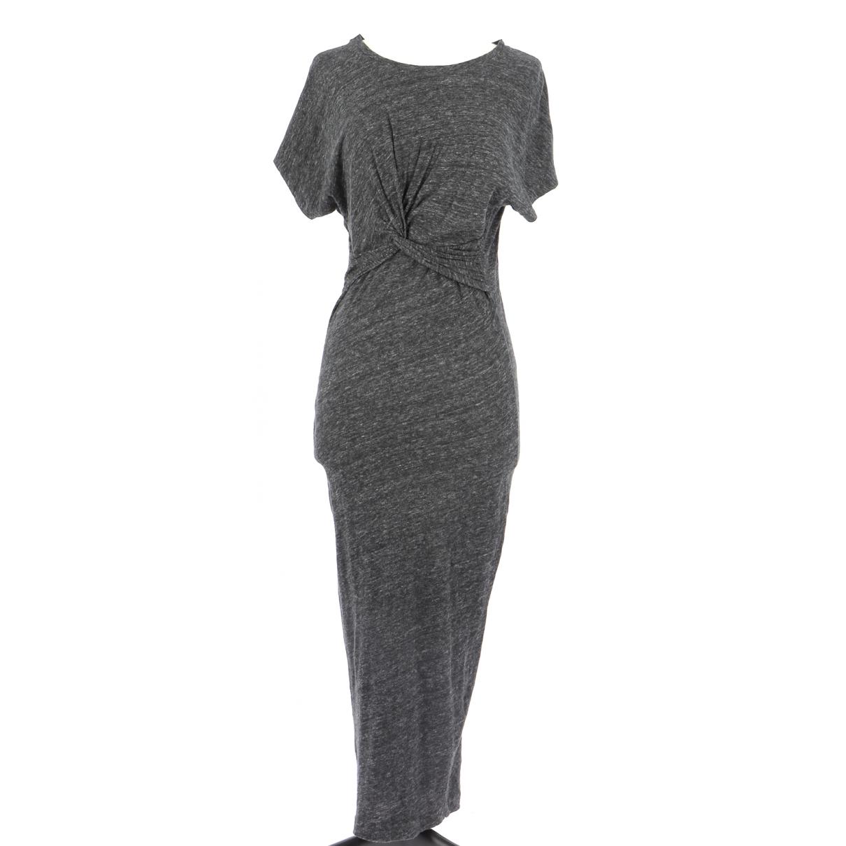 Iro - Robe   pour femme en coton - gris