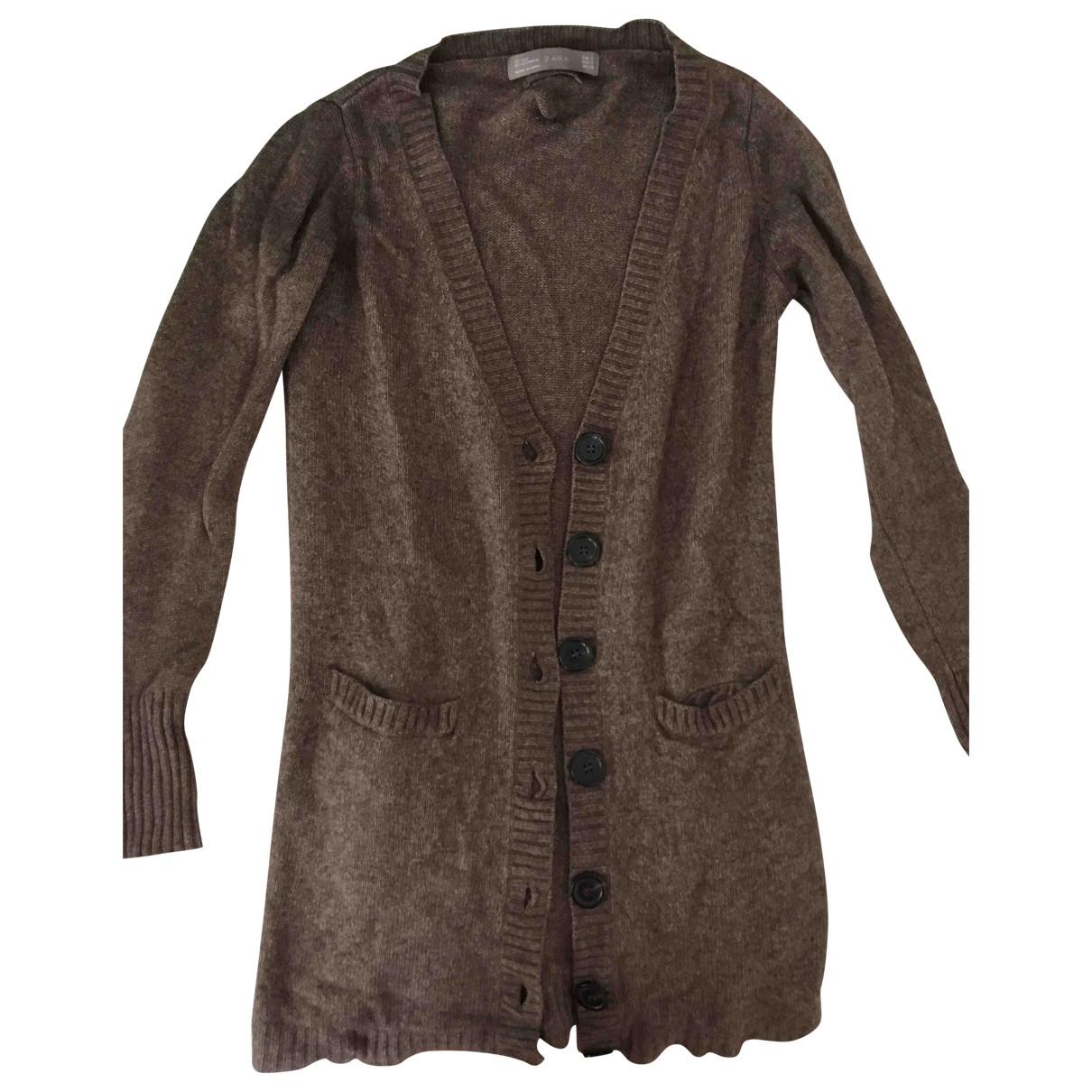 Zara \N Brown Cashmere Knitwear for Women 34 FR