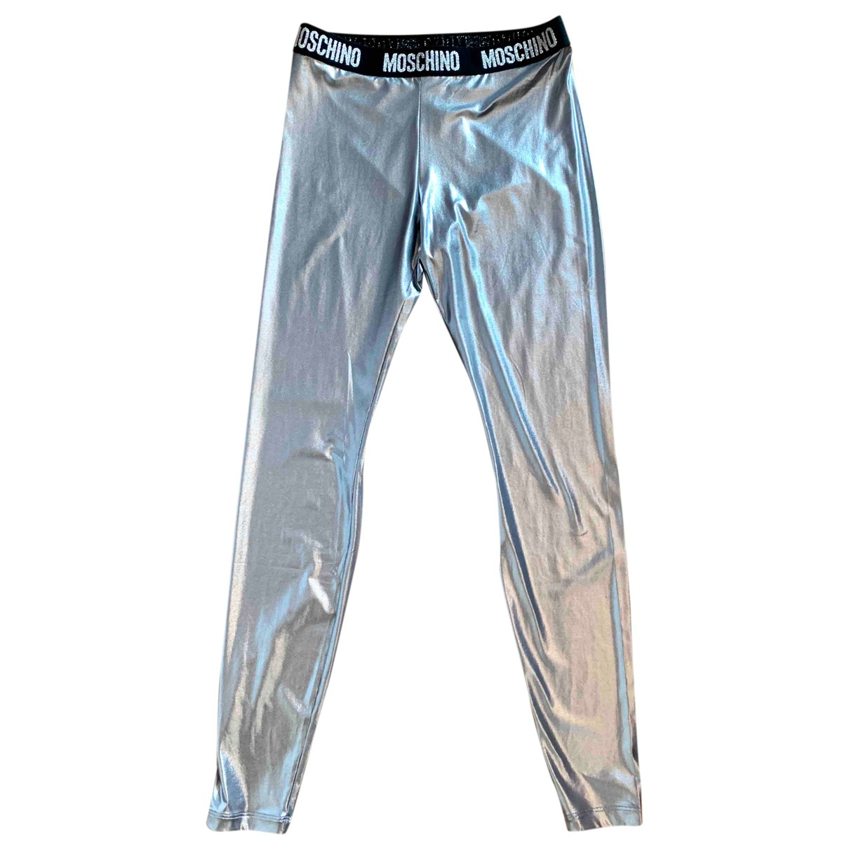 Moschino \N Silver Trousers for Women XS International