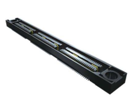 Samtec , QSS 0.635mm Pitch 150 Way 2 Row Vertical PCB Socket, Surface Mount, Crimp Termination (42)