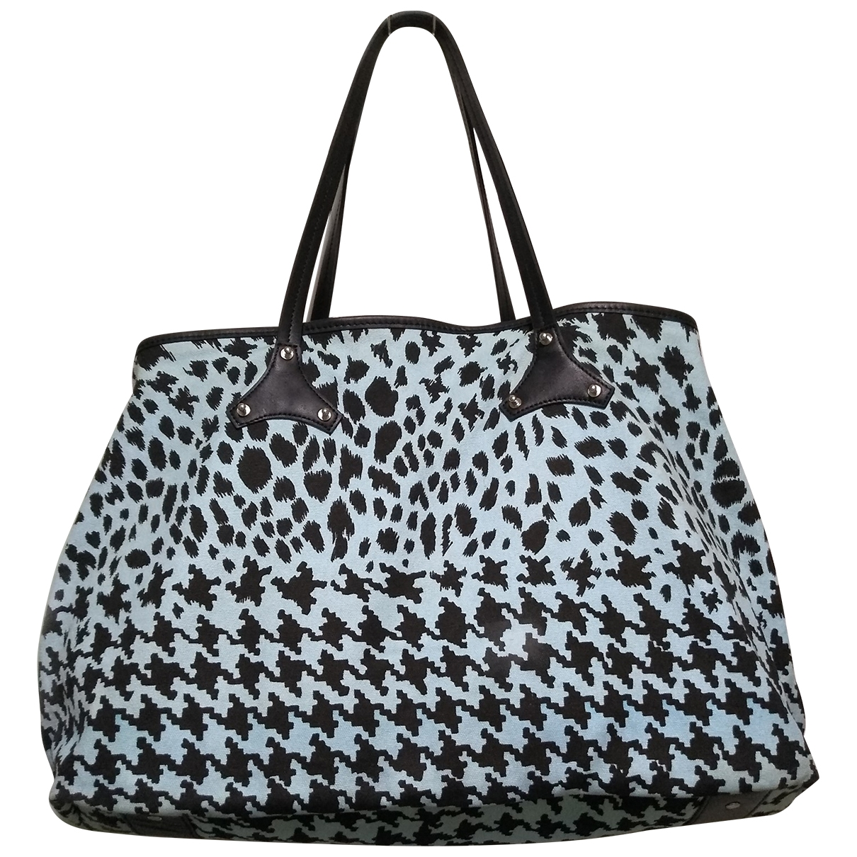 Mcq \N Blue Cloth Travel bag for Women \N
