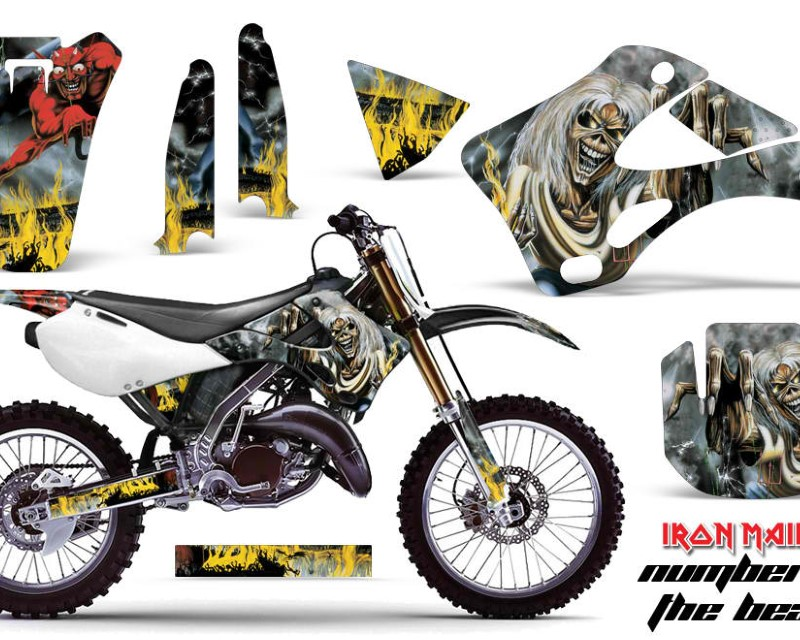 AMR Racing Dirt Bike Graphics Kit Decal Wrap For Kawasaki KX125 | KX250 1999-2002áIM NOTB