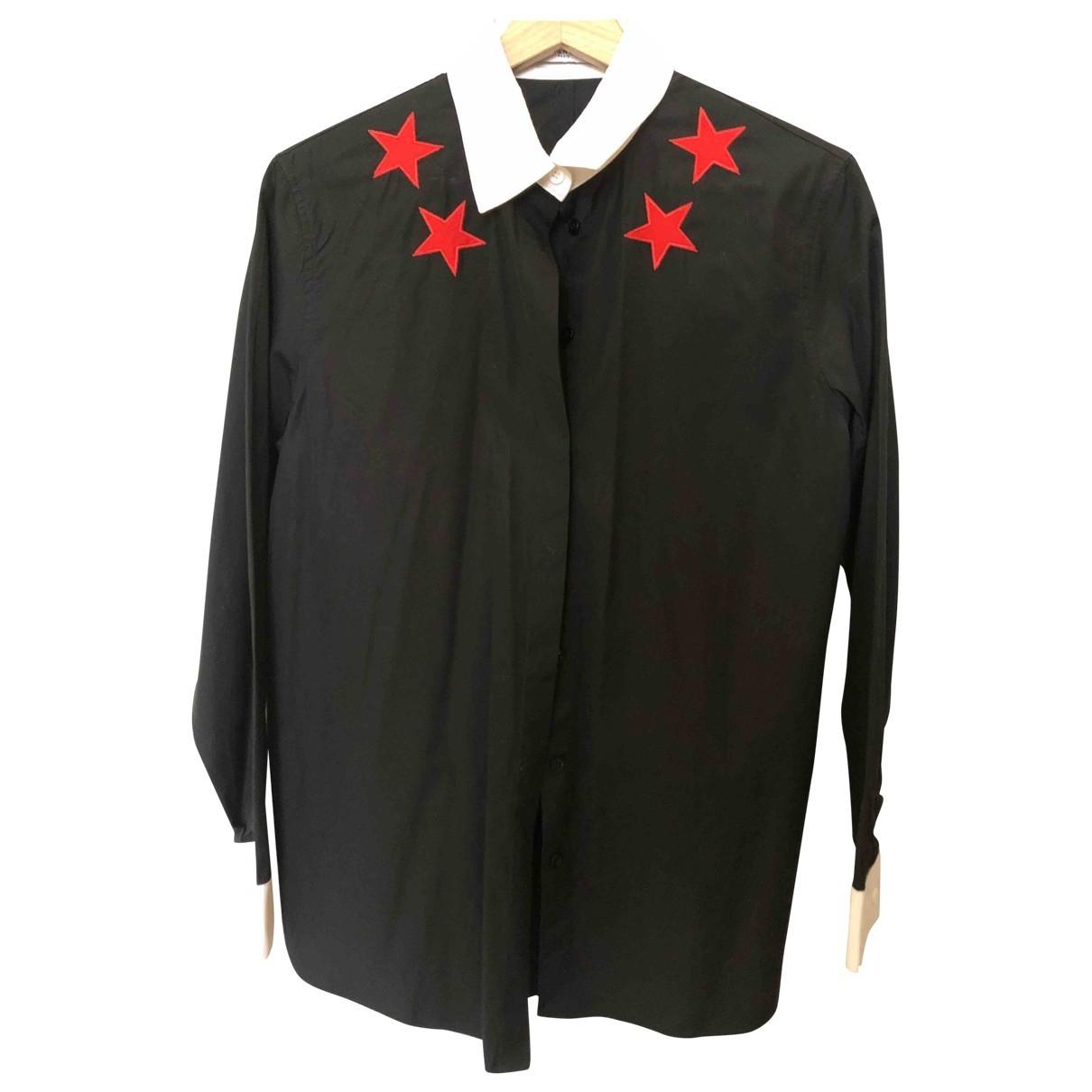 Givenchy \N Top in  Schwarz Baumwolle