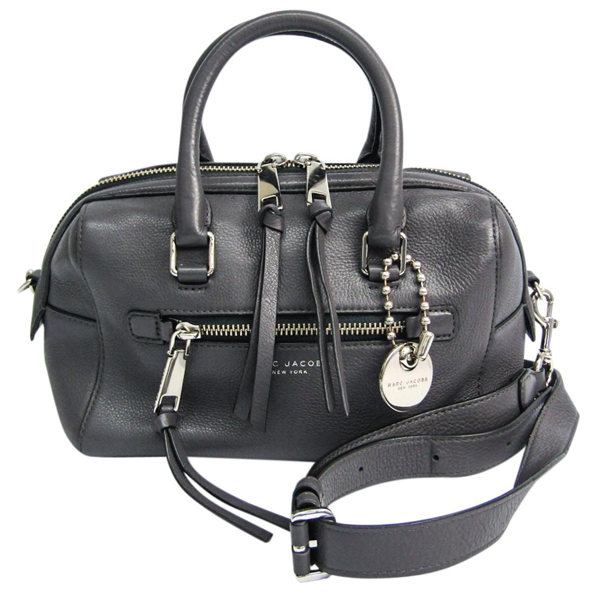 Marc Jacobs N Grey Leather handbag for Women N