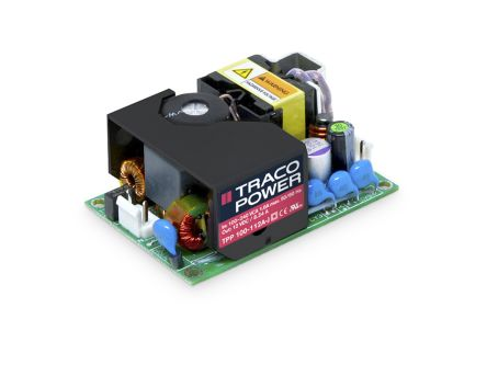 TRACOPOWER , 100W Embedded Switch Mode Power Supply SMPS, 28V dc, Open Frame, Medical Approved