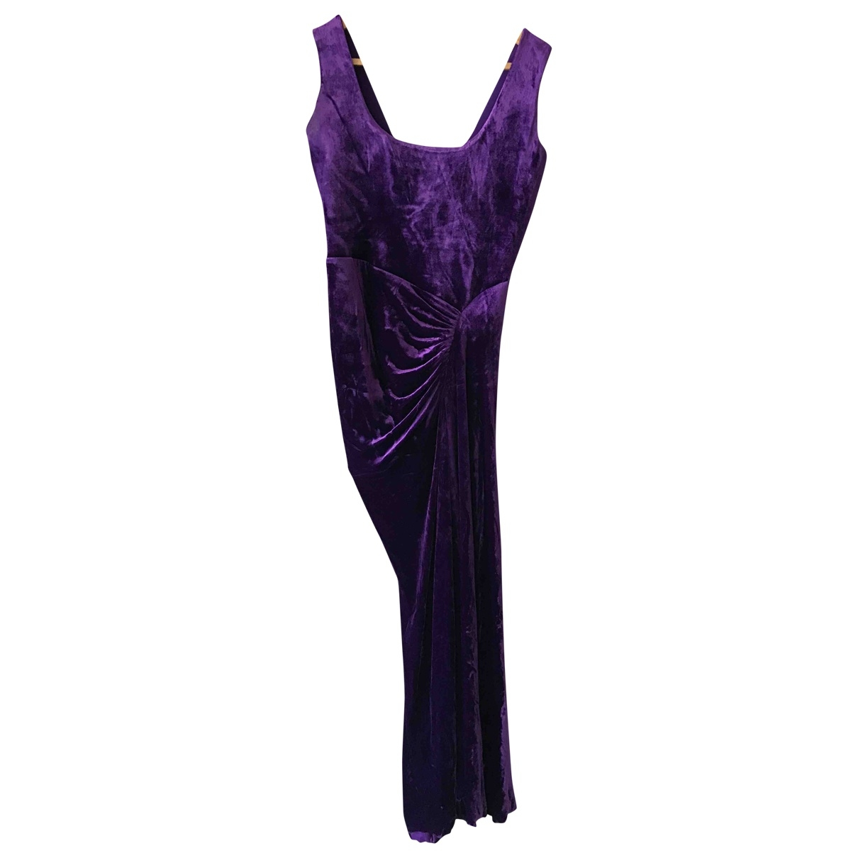 Herve L Leroux \N Purple dress for Women 44 FR