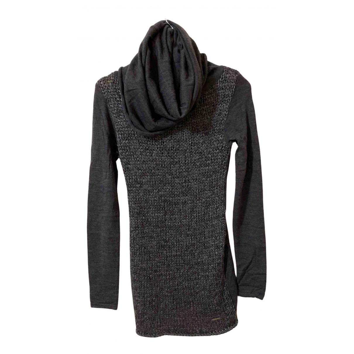 Costume National N Grey Wool dress for Women L International