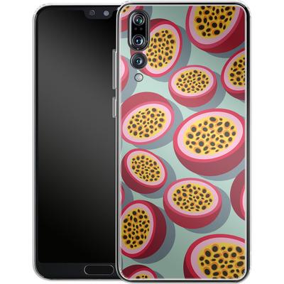 Huawei P20 Pro Silikon Handyhuelle - Passion Fruit von Susana Paz
