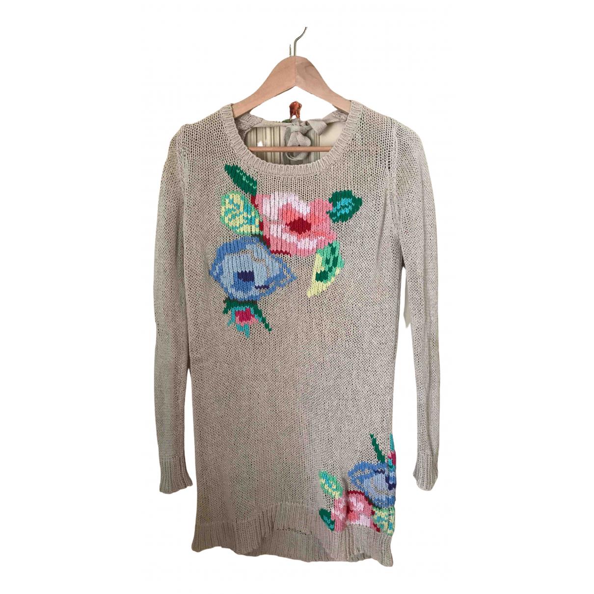 Twin Set N Beige Silk Knitwear for Women S International