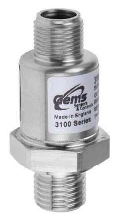 Gems Sensors Pressure Sensor for Various Media , 60bar Max Pressure Reading Analogue