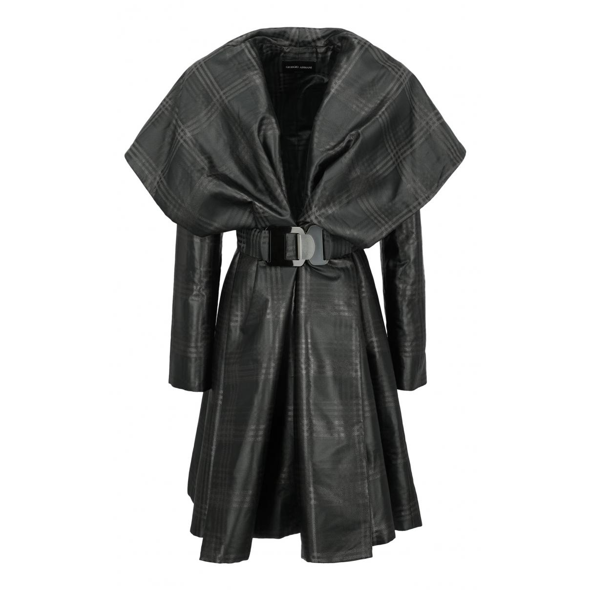 Giorgio Armani - Manteau   pour femme - gris