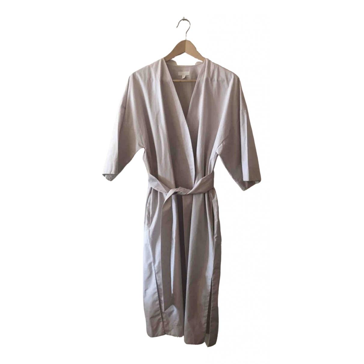 Cos \N Beige Cotton dress for Women 34 FR