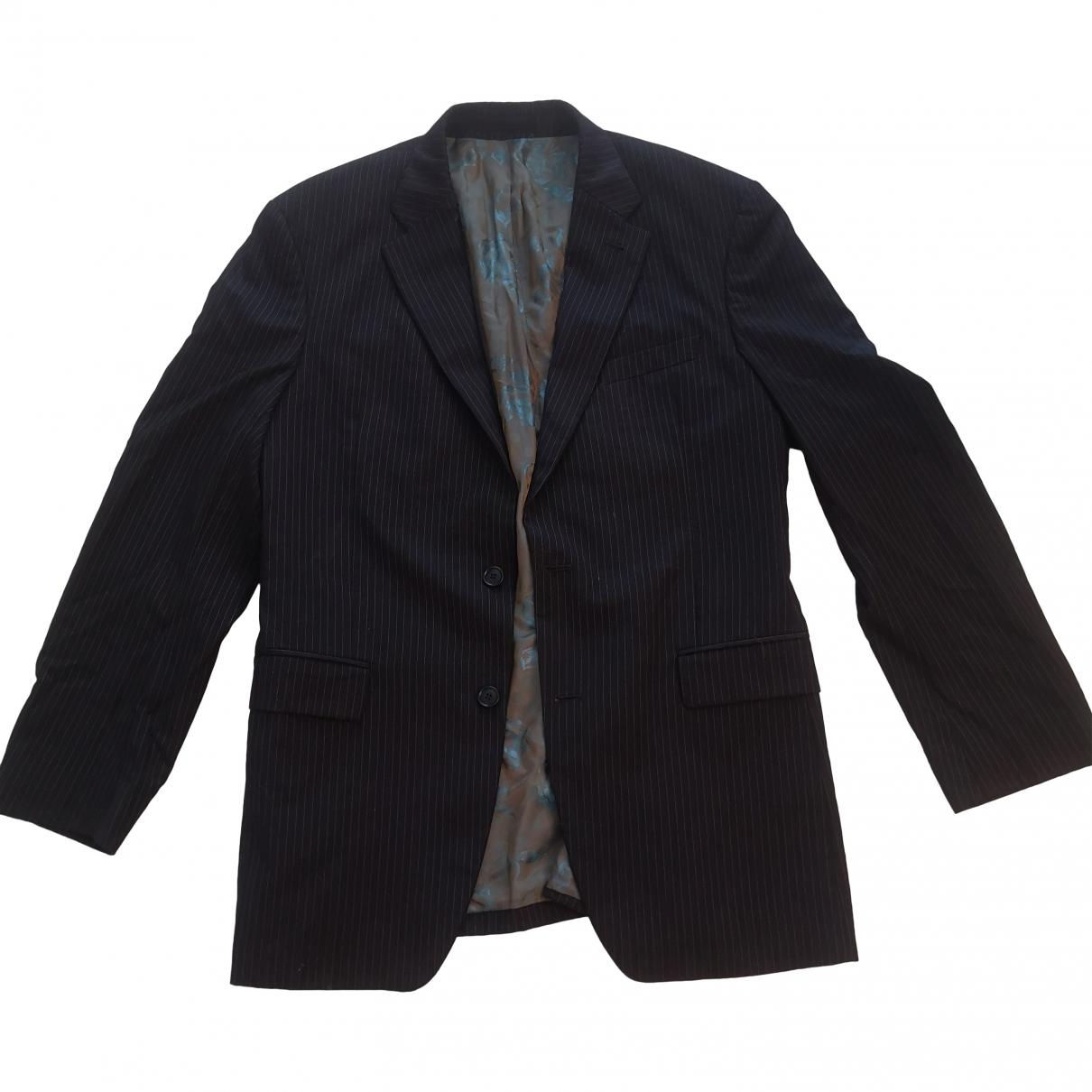 Kenzo - Costumes   pour homme en laine - noir