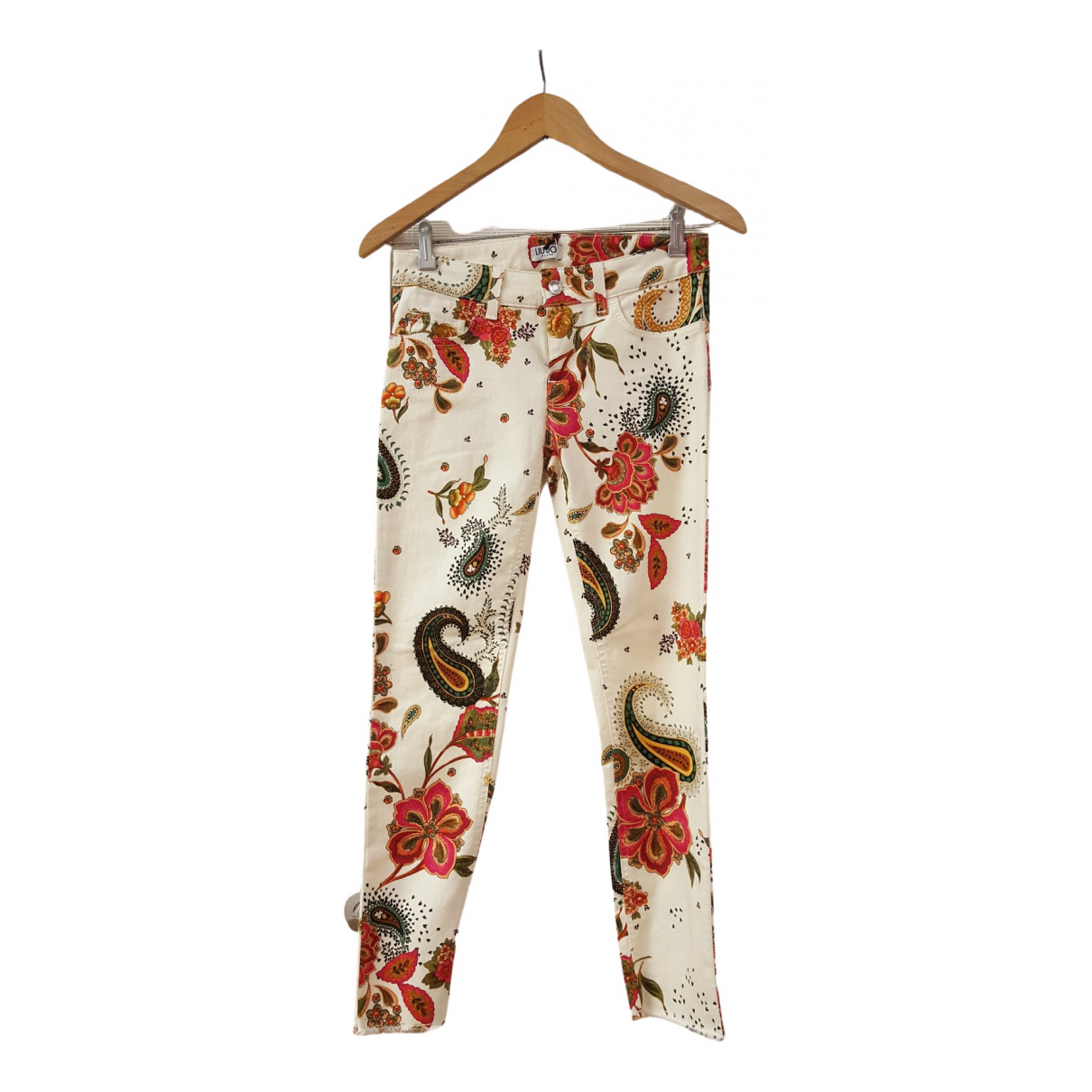 Liu.jo \N Multicolour Cotton Trousers for Women S International