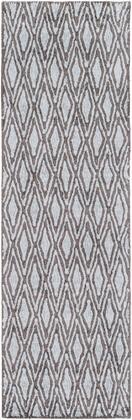 Quartz QTZ-5011 3' x 5' Rectangle Modern Rug in Charcoal  Pale