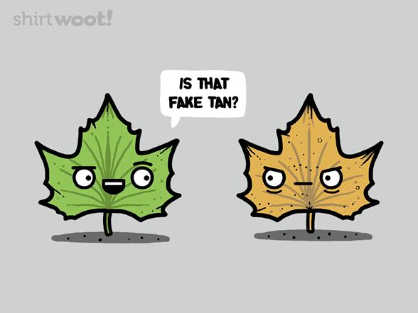 Fake Tan T Shirt