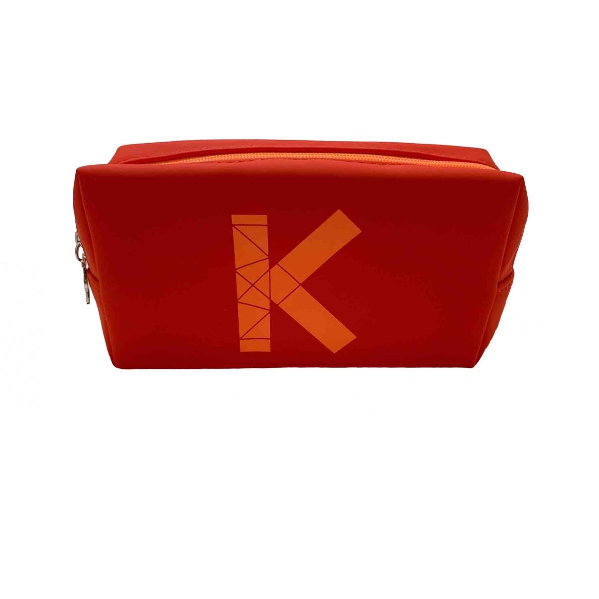 Kenzo - Sac de voyage   pour femme - rouge