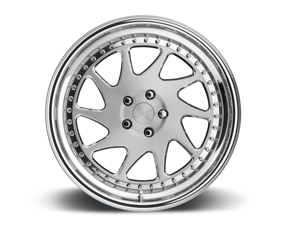 Rotiform OZT-3PCFORGED-FLAT OZT 3-Piece Forged Flat/Convex Center Wheels