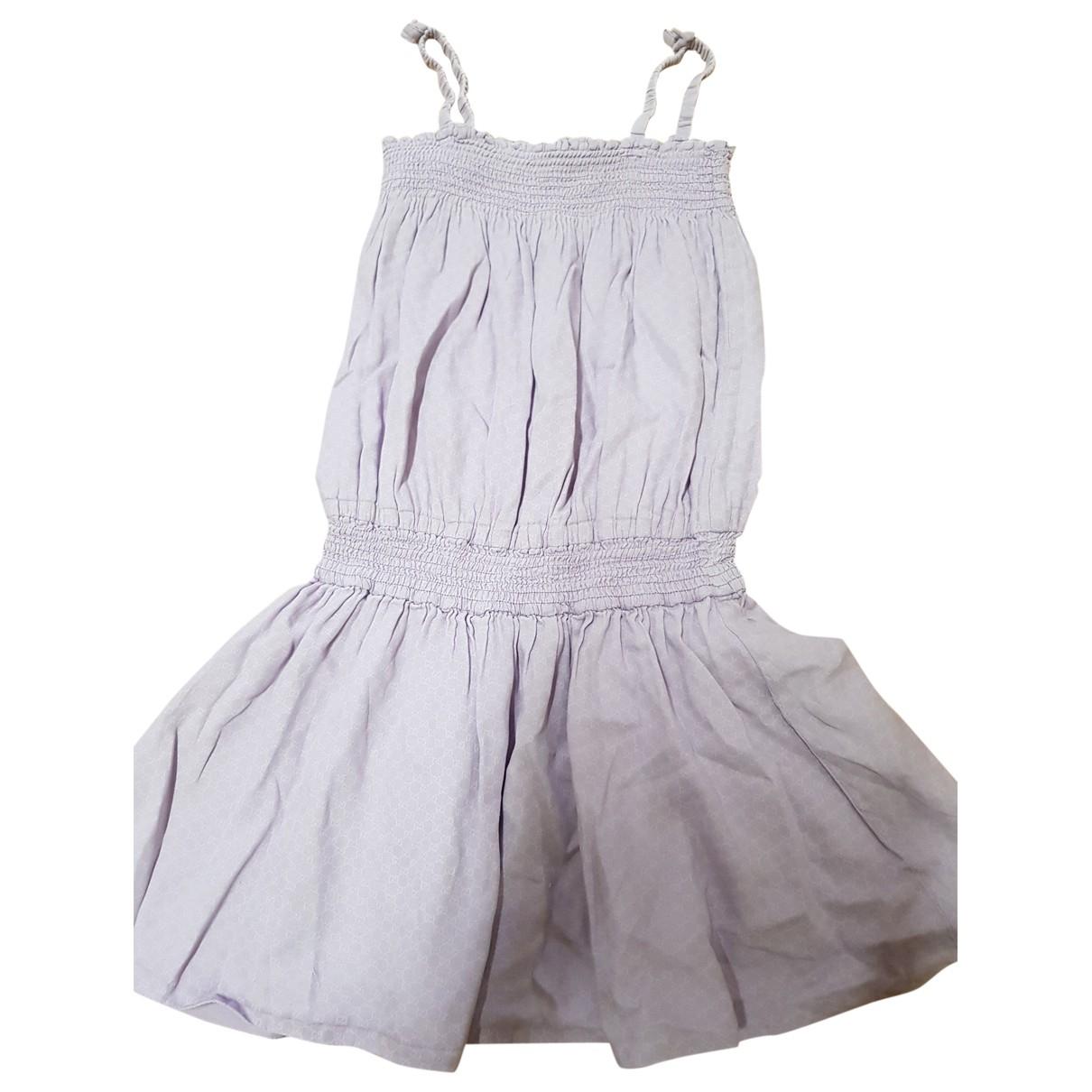 Gucci - Robe    pour enfant en coton - violet