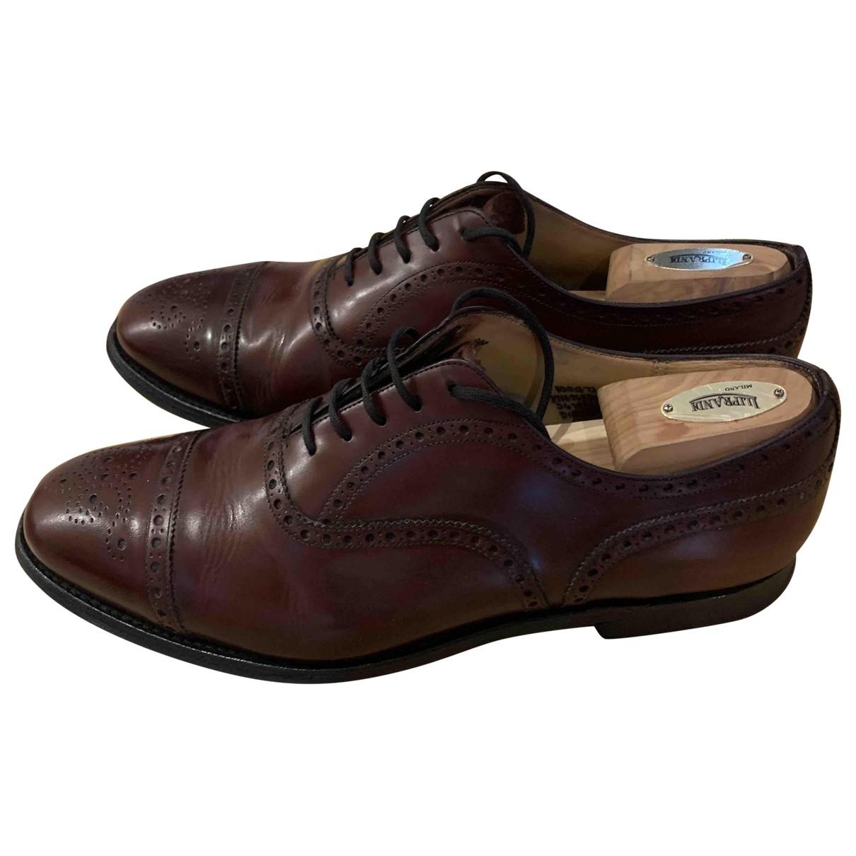 Churchs - Derbies   pour homme en cuir - marron