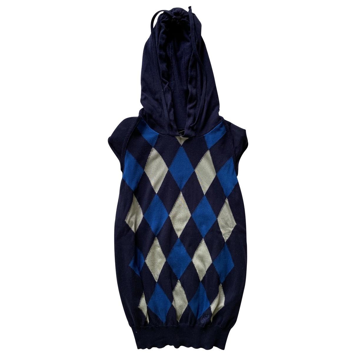 Mcq \N Navy Cotton Knitwear & Sweatshirts for Men L International