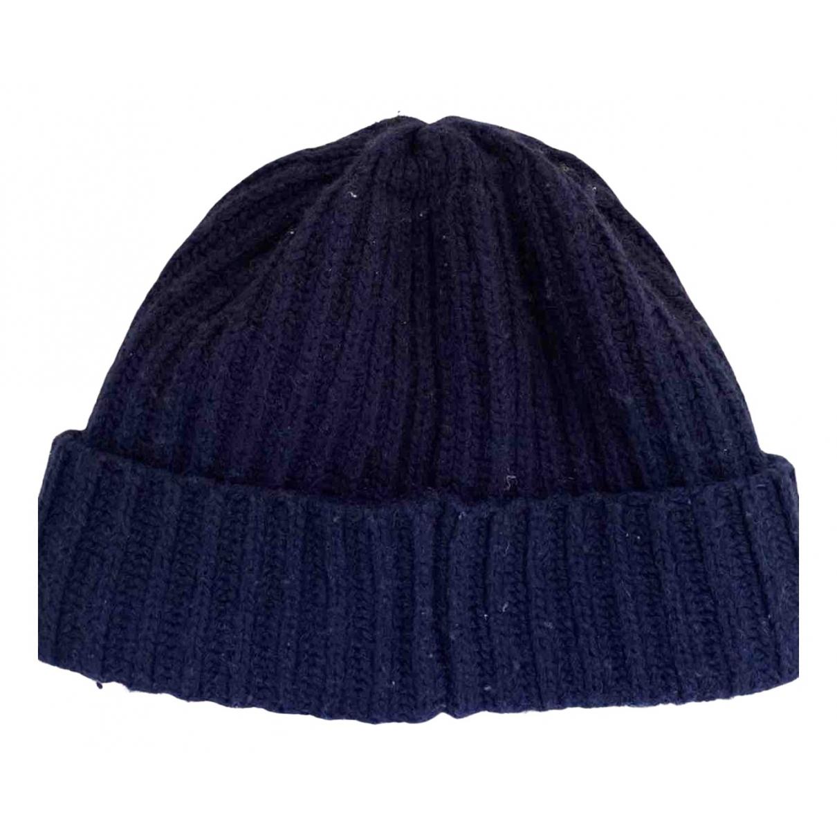 Gant N Navy Wool hat & pull on hat for Men M International