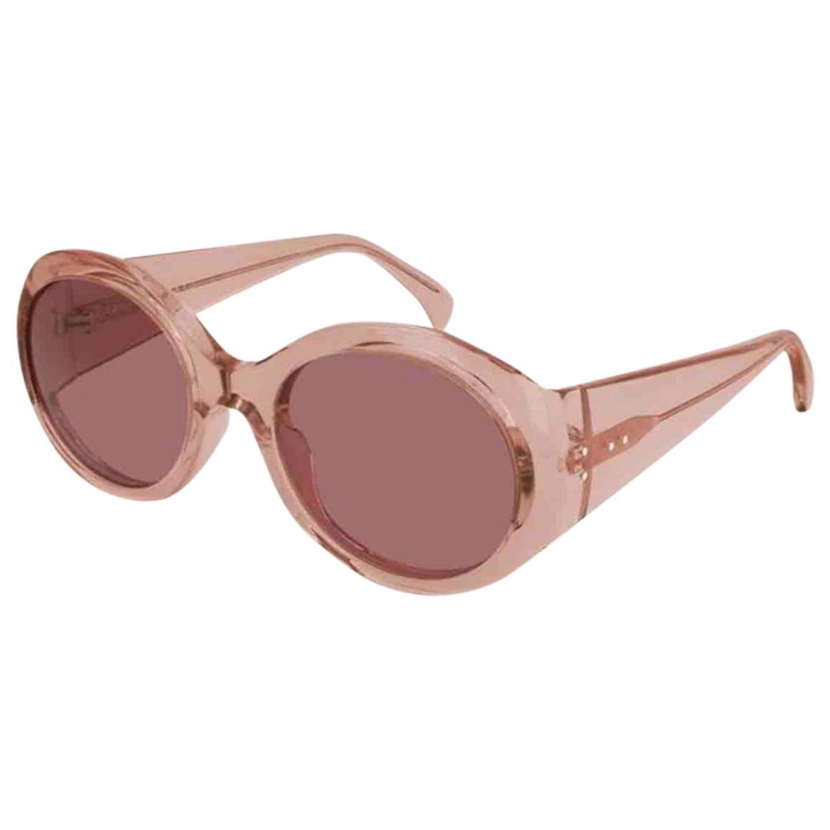 Alaia \N Sonnenbrillen in  Rosa Kunststoff