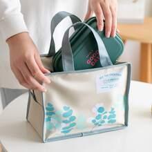 Lunch Tasche mit Blatt Muster