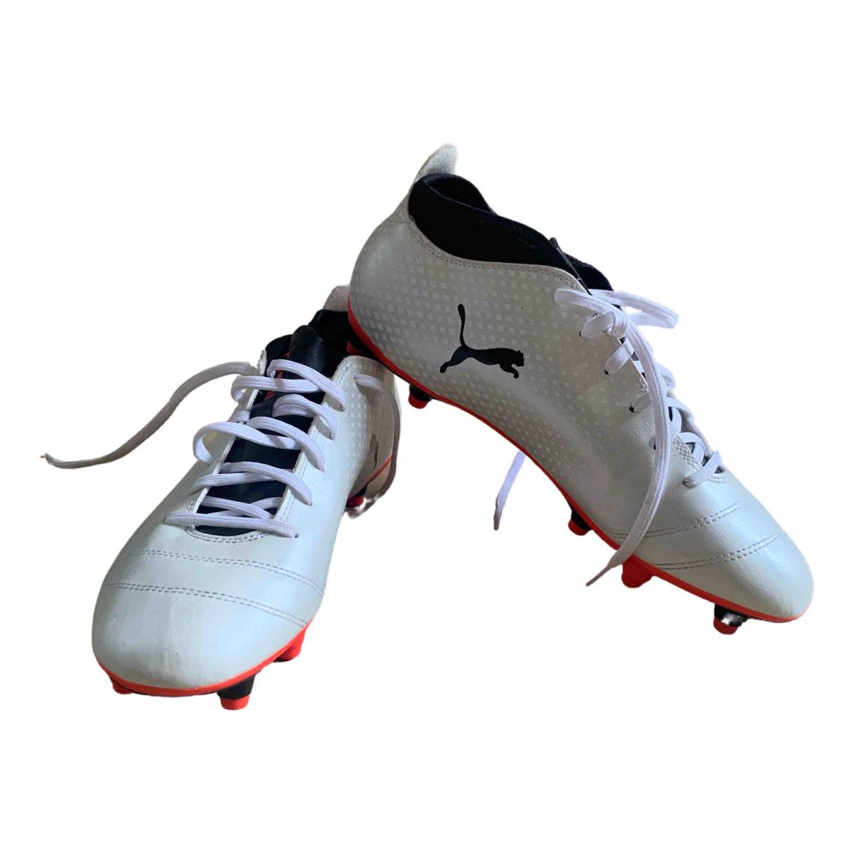 Puma \N White Rubber Trainers for Men 44.5 EU