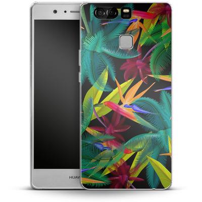 Huawei P9 Silikon Handyhuelle - Bird of Paradise von Mark Ashkenazi