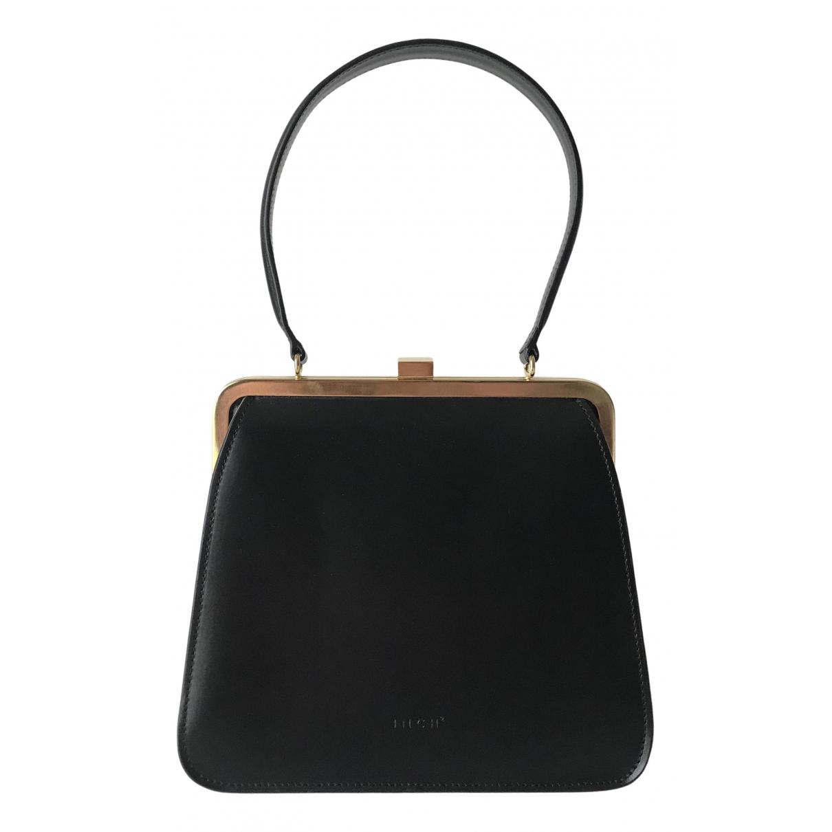 Inch2 \N Black Leather handbag for Women \N