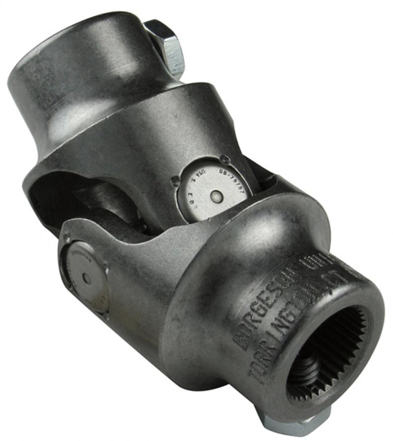 Borgeson 015225 Steering Universal Joint; Steel; 1DD X 11/16-36