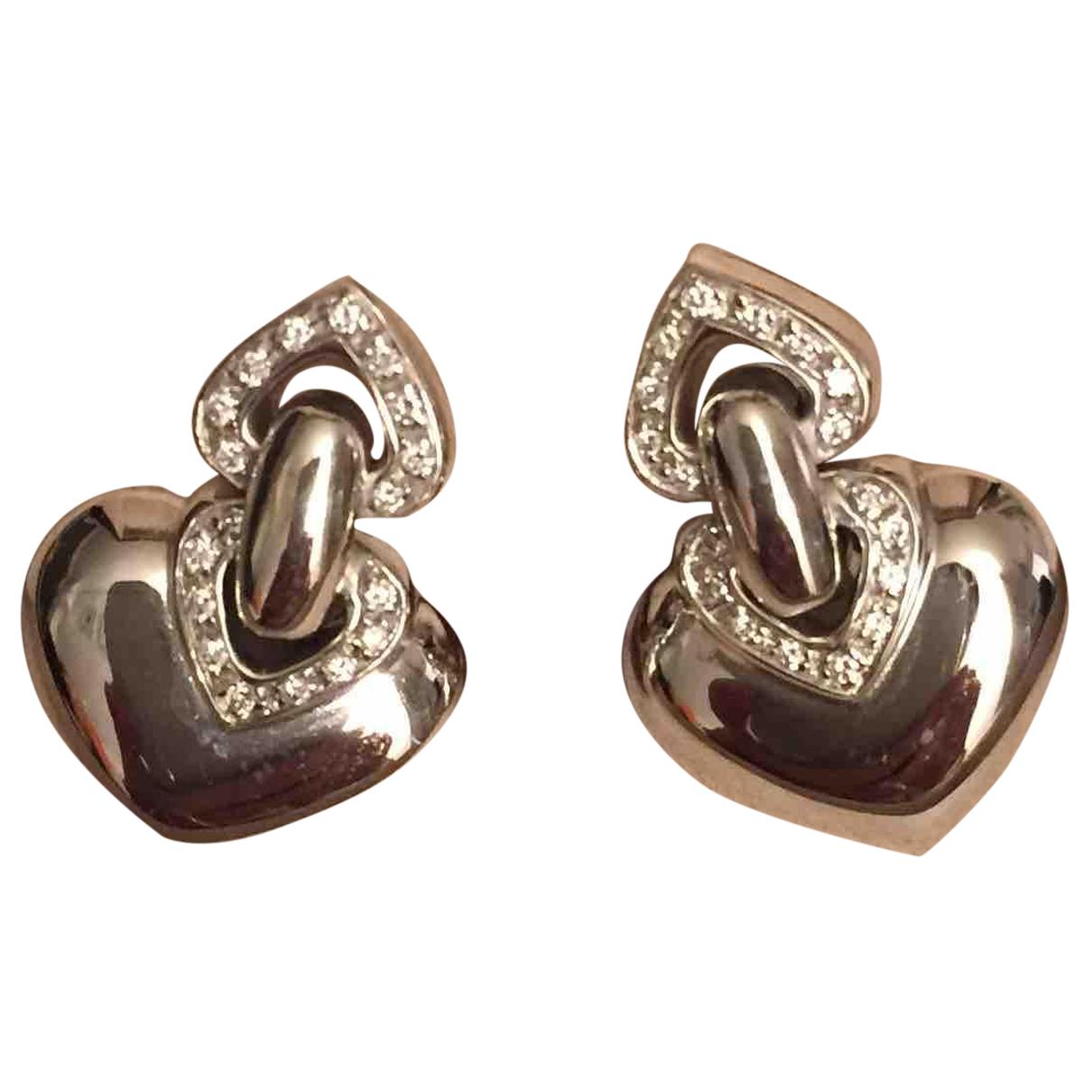 Bvlgari Doppio White White gold Earrings for Women N