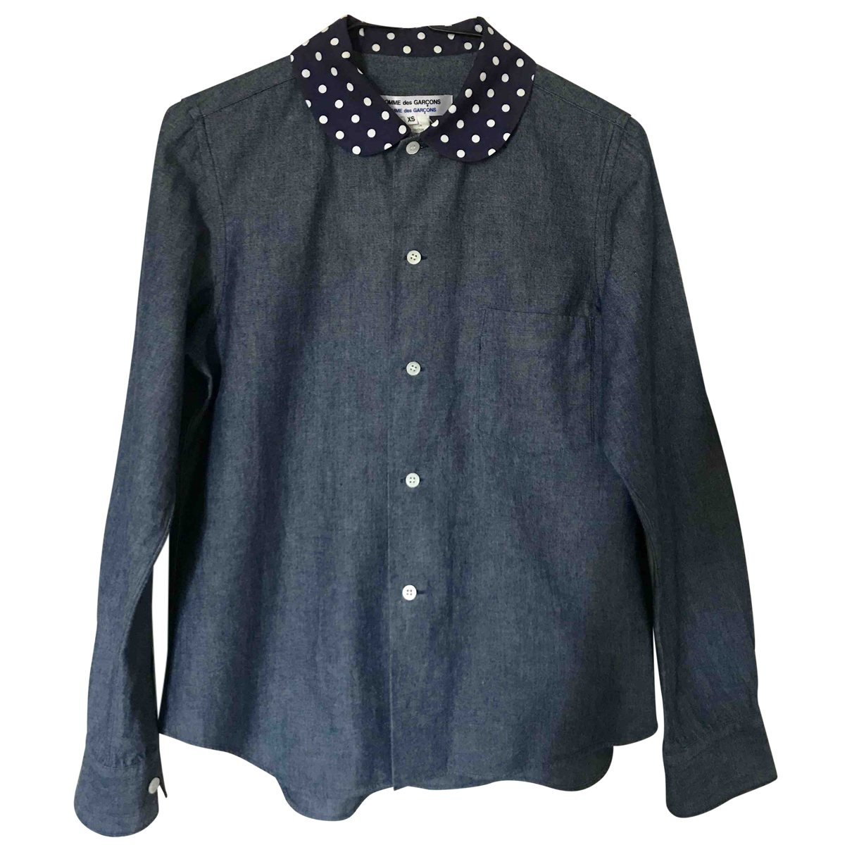 Comme Des Garcons \N Blue Cotton  top for Women XS International