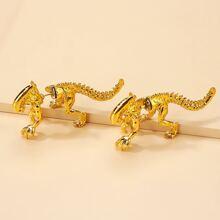 Ohrringe mit Dinosaurier Design
