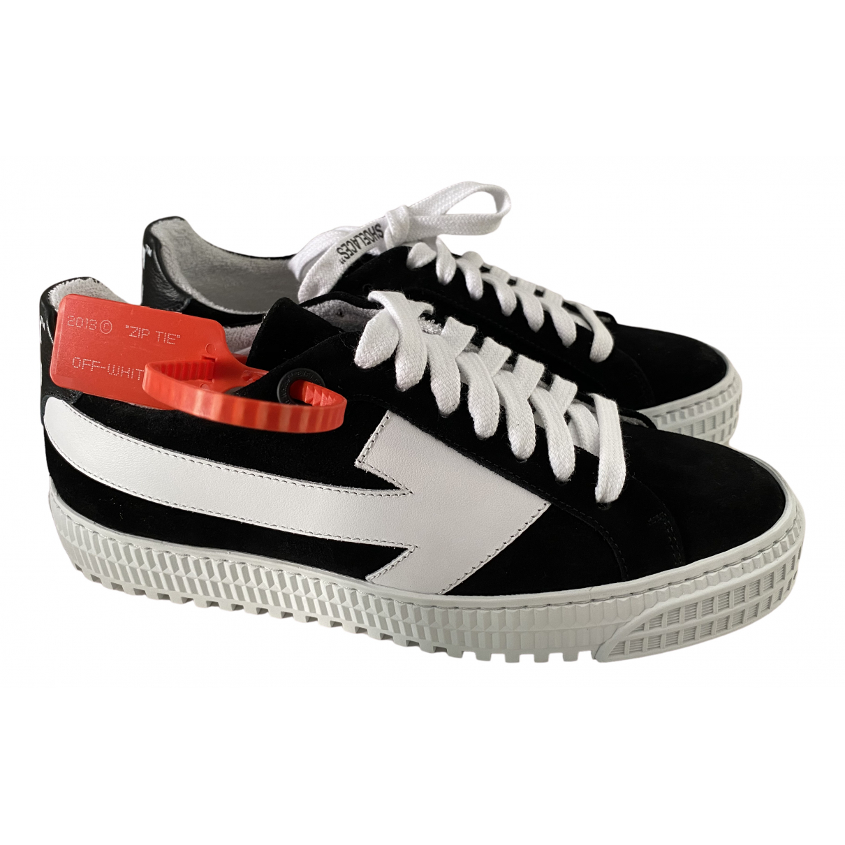 Off-white - Baskets Arrow pour femme en suede - noir