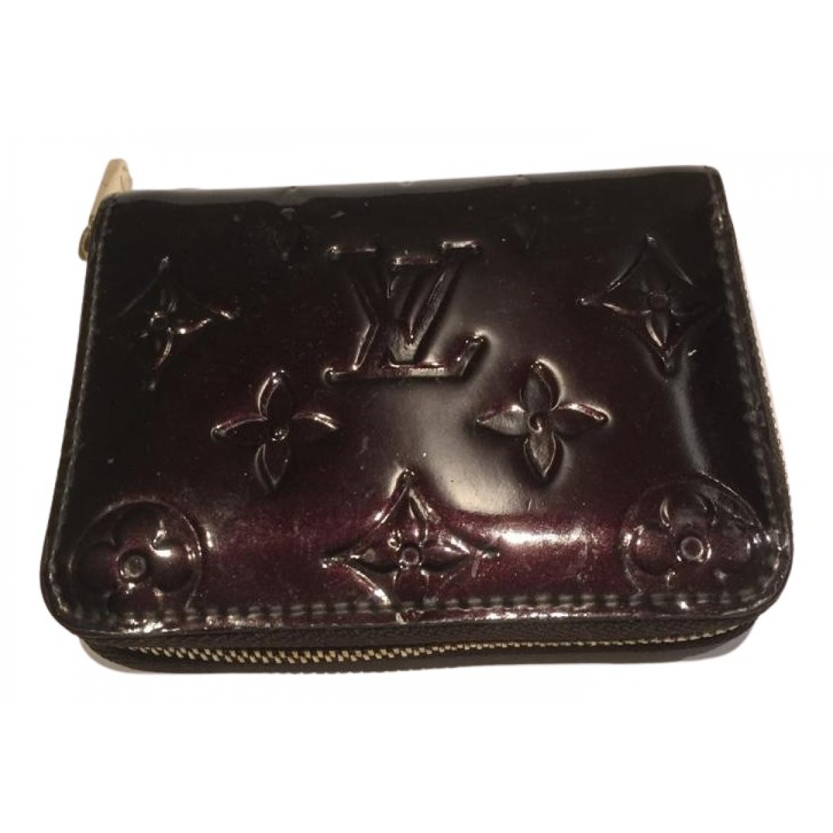 Louis Vuitton N Burgundy Patent leather Purses, wallet & cases for Women N