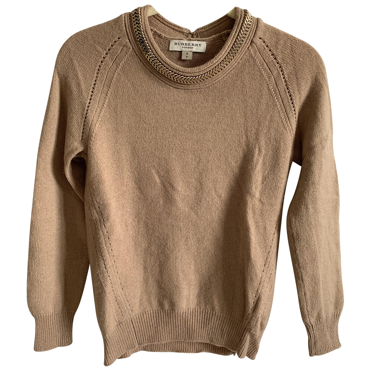 Burberry \N Beige Wool Knitwear for Women 6 UK