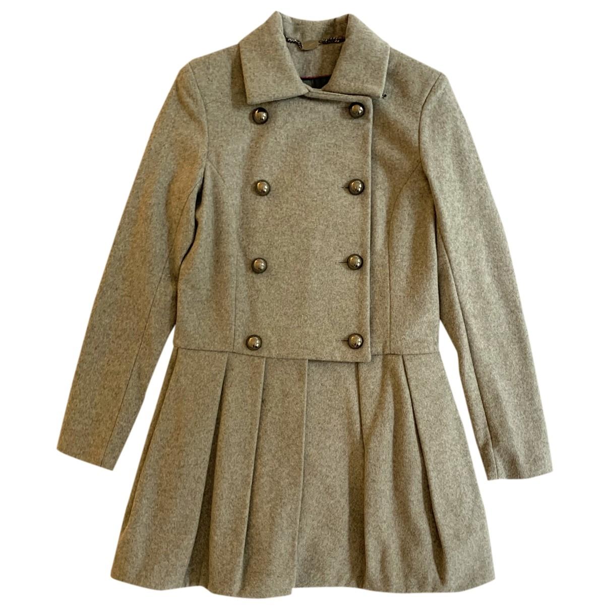 Mulberry - Manteau   pour femme en laine - gris